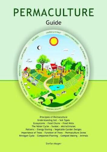 Permaculture Guide by Stefan Mager Board Books Book Free Shipping!