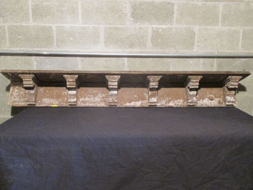 ~ 6 VICTORIAN ANTIQUE CORBELS ~ SOFFIT ~ WALL SHELF ~ ARCHITECTURAL SALVAGE