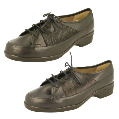 Ladies Equity 3E/4E Fitting Casual Shoes - Rose