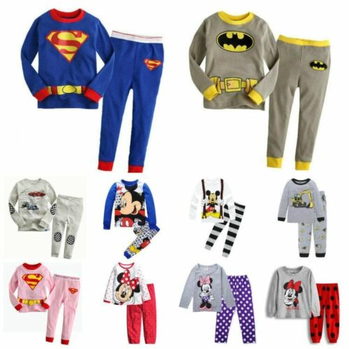 Baby clothes kids boys 100% cotton outfits&set Pajamas T shirt+pants sleepwear