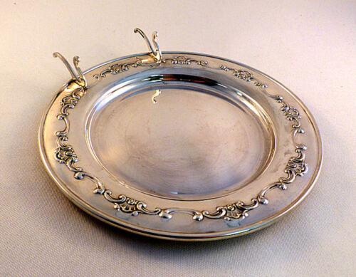 "Strasbourg-Gorham Sterling  6"" Butter Serving Plate"
