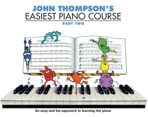 John Thompson's Easiest Piano Course Part 2 (Book only)