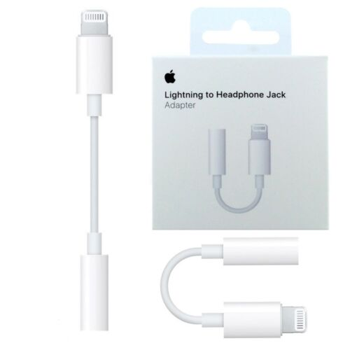 Adattatore lightning jack cuffie 3,5 mm originale Apple per iPhone7 4.7 Plus 5.5