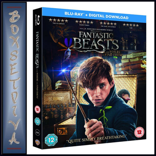 FANTASTIC BEASTS AND WHERE TO FIND THEM - Eddie Redmayn   **BRAND NEW BLU-RAY***