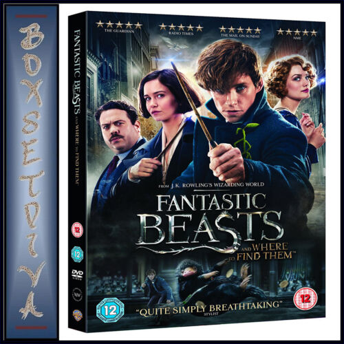 FANTASTIC BEASTS AND WHERE TO FIND THEM - Eddie Redmayne   *** BRAND NEW DVD***