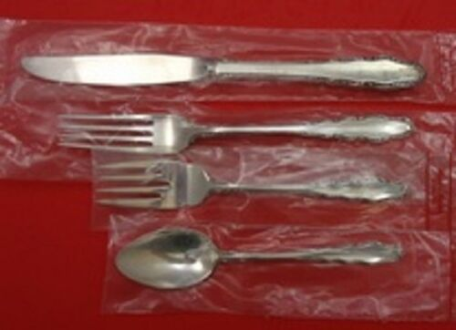 English Provincial By Reed & Barton Sterling Silver Regular Setting 4-Piece New