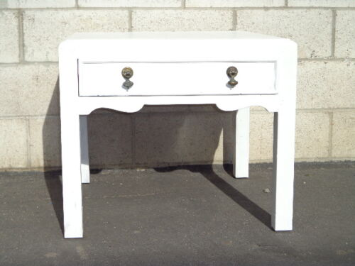 Coffee Table Cocktail Shabby Chic Country Cottage Coastal Cabinet Vintage Table