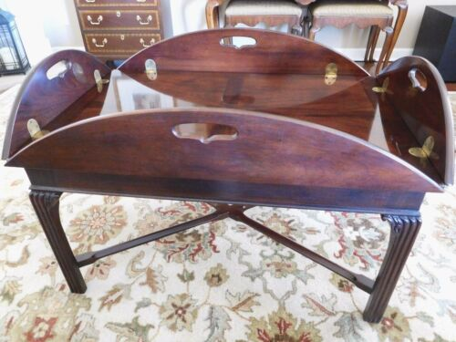Henredon Chippendale Butler Coffee Table - 14th Folio Collection #8701-40