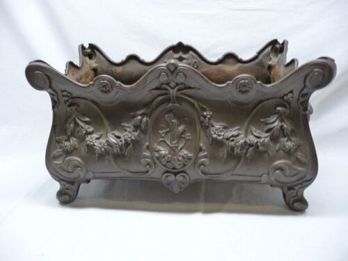 Antique French Cast Iron Planter As Offered