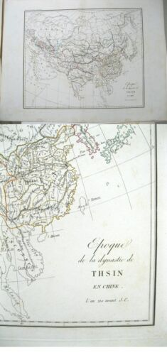 Vintage Map,EPOQUE DYANSTIE de THSIN,CHINE,c.19thC.