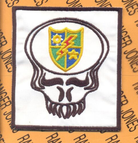 US Army 75th Infantry Airborne Ranger LRRP LRP Dead Head pocket patch Army - 66529