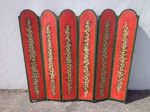 Fireplace Screen Antique Country French Provincial Vintage Shabby Chic Deocr
