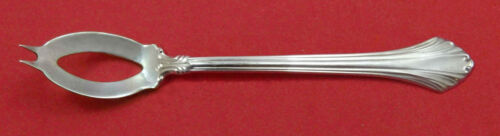 """French Regency By Wallace Sterling Silver Olive Spoon Ideal 5 3/4"""" Custom Made"""