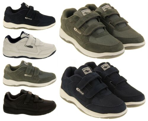 Mens GOLA WIDE FIT EE LEATHER Flat Casual Trainers Size 7 8 9 10 11 12 13 14 15
