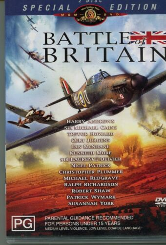DVD: BATTLE OF BRITAIN, SPECIAL 2 DISC EDITION MGM
