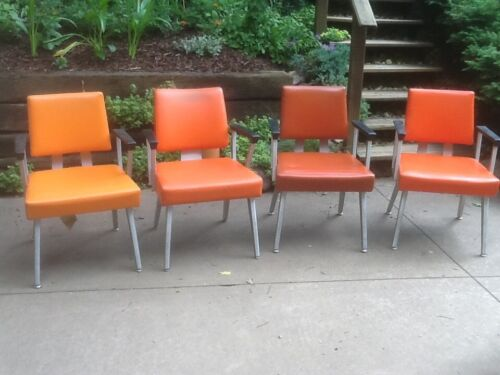 Mid-century Goodform office armchairs/task chairs