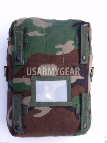 Made in USA Military Army Molle 2 Woodland Camouflage Sustainment Pouch Gear VGCPouches - 70991