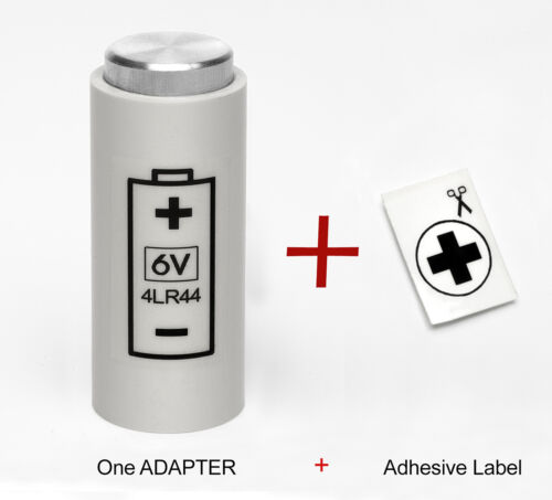 BATTERY ADAPTER for YASHICA ELECTRO 35 G, GS, GSN.., MG-1, AX ( 4LR44 to PX32 )