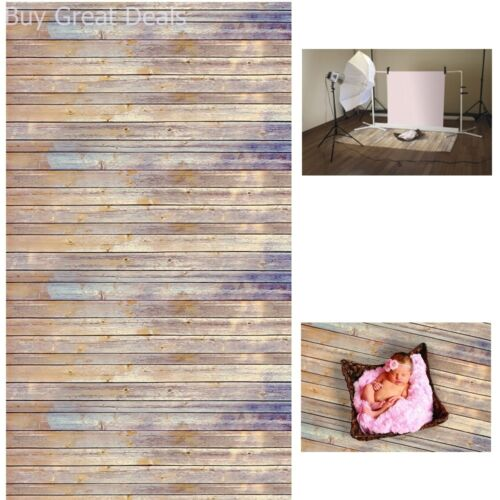 Photo Prop Backdrop Paper Vintage Look Rustic Wood Background Photography 4x12ft