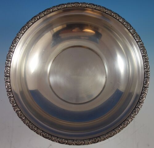 """Prelude by International Sterling Silver Bowl 10"""" #D279 (#1621)"""
