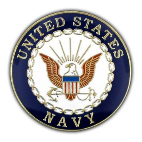 US Navy X- Large Pin 1.5 inch Double PostNavy - 66533