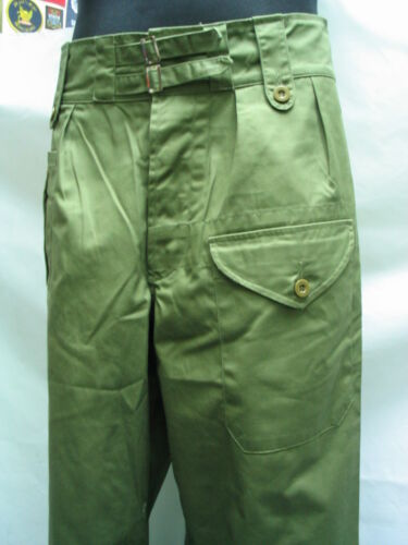 WW2 British 1944 pattern Burma Jungle trousers  size MReproductions - 156443