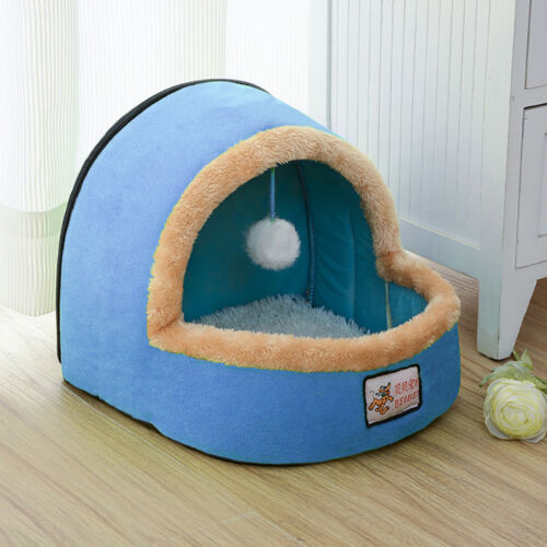 Pet Bed Dog Cat Puppy Cushion House Warm Pad Basket Toy Ball Kennel Mat Blanket
