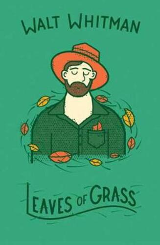 Leaves of Grass by Walt Whitman Hardcover Book Free Shipping!