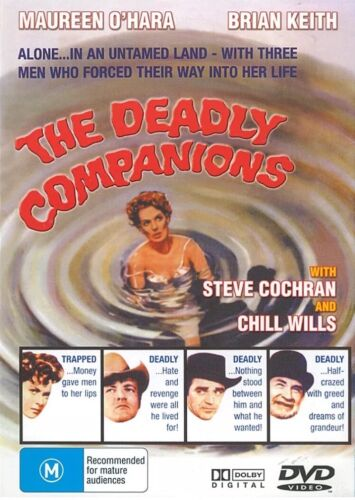 The Deadly Companions, Maureen O'hara All Regions Brand New Sealed Free Postage