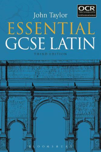 Essential Gcse Latin by John Taylor Paperback Book Free Shipping!
