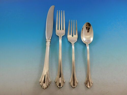 French Regency By Wallace Sterling Silver Regular Size Place Setting(s) 4pc