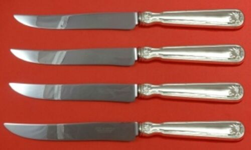 Shell and Thread by Tiffany and Co Sterling Silver Steak Knife Set 4pc Lg Custom