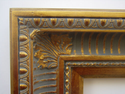 Wide Gold Ornate Hudson River Ribbed Cove Portrait Photo Picture Frame  8x10
