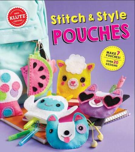 Stitch and Style Pouches by Eva Steele-staccio Book & Merchandise Book Free Ship