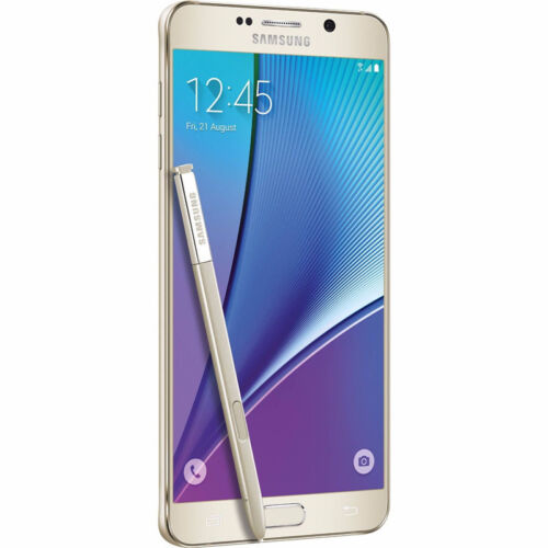 32GB Samsung Galaxy Note 5 SM-N920T Black/White/Gold GSM T-Mobile Smartphone USA