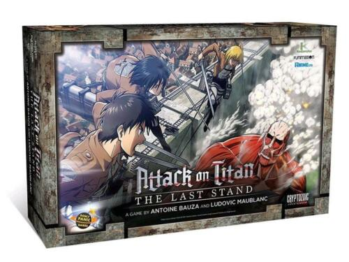 Attack on Titan - Tactical Board Game - Cryptozoic Entertainment Free Shipping!