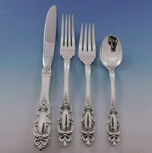 Grand Duchess By Towle Sterling Silver Regular Size Place Setting(s) 4pc