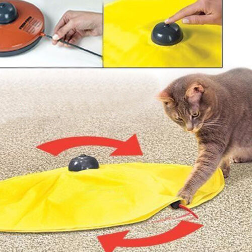 Pet Cat Meow Toy V4 Electronic Interactive Undercover Mouse Cat Kitten Toys Kits