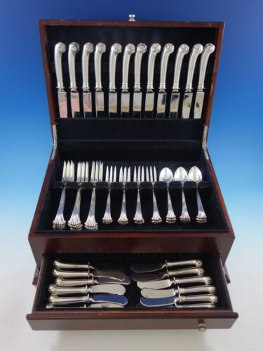 Onslow by Tuttle Sterling Silver Flatware Service for 12 Set 60 Pieces