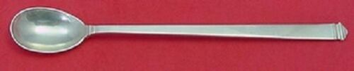 "Hampton by Tiffany and Co Sterling Silver Iced Tea Spoon 7 5/8"" Silverware"