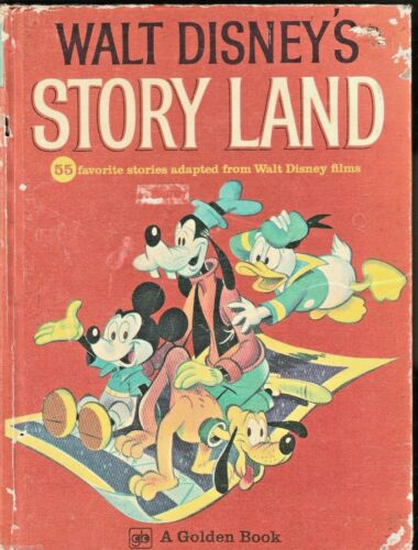 WALT DISNEY'S STORY LAND 55 Favourite Stories ~ VINTAGE 1st Ed HC 1962