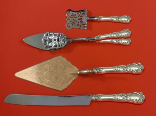 Buttercup by Gorham Sterling Silver Dessert Serving Set 4pc Custom Made