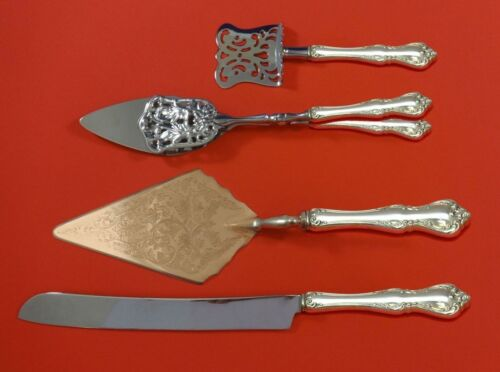Debussy by Towle Sterling Silver Dessert Serving Set 4pc Custom Made
