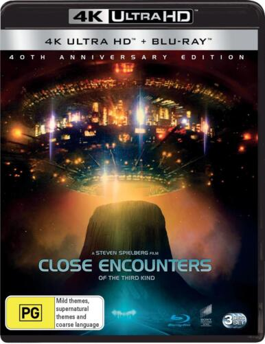 Close Encounters Of The Third Kind | Blu-Ray + UHD - Blu Ray Region A,B,C Free S