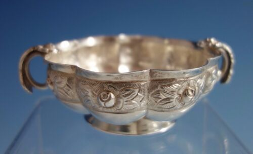 Aztec Rose by Sanborns Mexican Mexico Sterling Silver Soup Bowl (#1775)