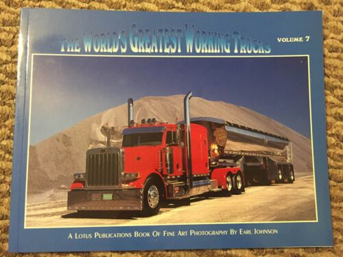 The World's Greatest Working Trucks Vol 7 Tractor Trailer truck driver 2008