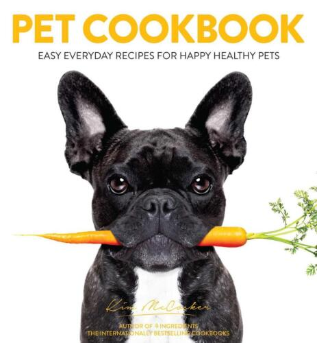 Pet Cookbook by Kim McCosker Paperback Book Free Shipping!