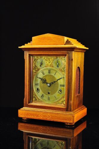 Antique German Kienzle 8 Day Bracket Clock with Westminster Chime approx. 1905