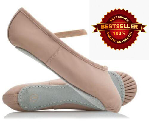 WESTPOLE Pink Ballet Shoes Child and Adult Sizes. Full leather Sole. pointe shoe <br/> UK's BEST QUALITY SHOES