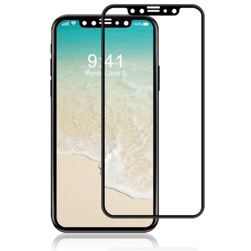 Luvvitt Tempered Glass Screen Protector 3D Curved for iPhone XS / X